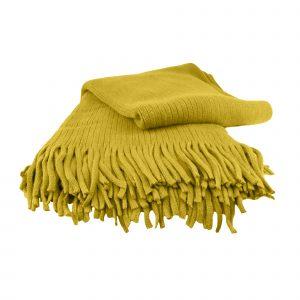 Liviza plaid geel – cashmere