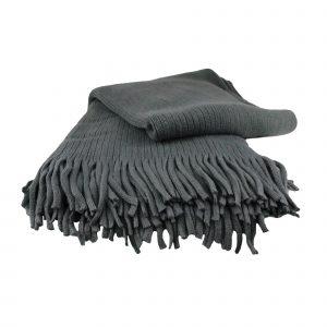 Liviza plaid grijs – cashmere