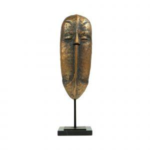 Ornament masker op voet – Koper